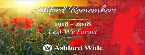 Ashford Remembers…..
