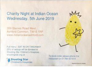 Indian Ocean & Shooting Stars