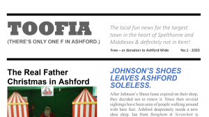 TOOFIA newsletter hits the town