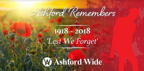 Ashford Remembers Banner
